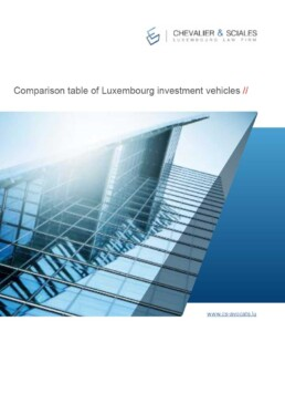 Luxembourg alternative investment funds comparison table