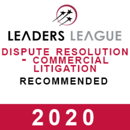 Leaders League best Luxembourg litigation lawyers attorneys for 2020 Chevalier & Sciales